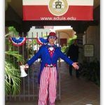 Entrance with Uncle Sam