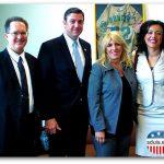 SDUIS Staff with Congressman Duncan Hunter