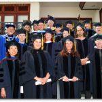 Some graduates and teachers